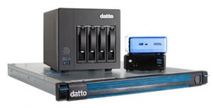 An assortment of backup and continuity products from Datto.